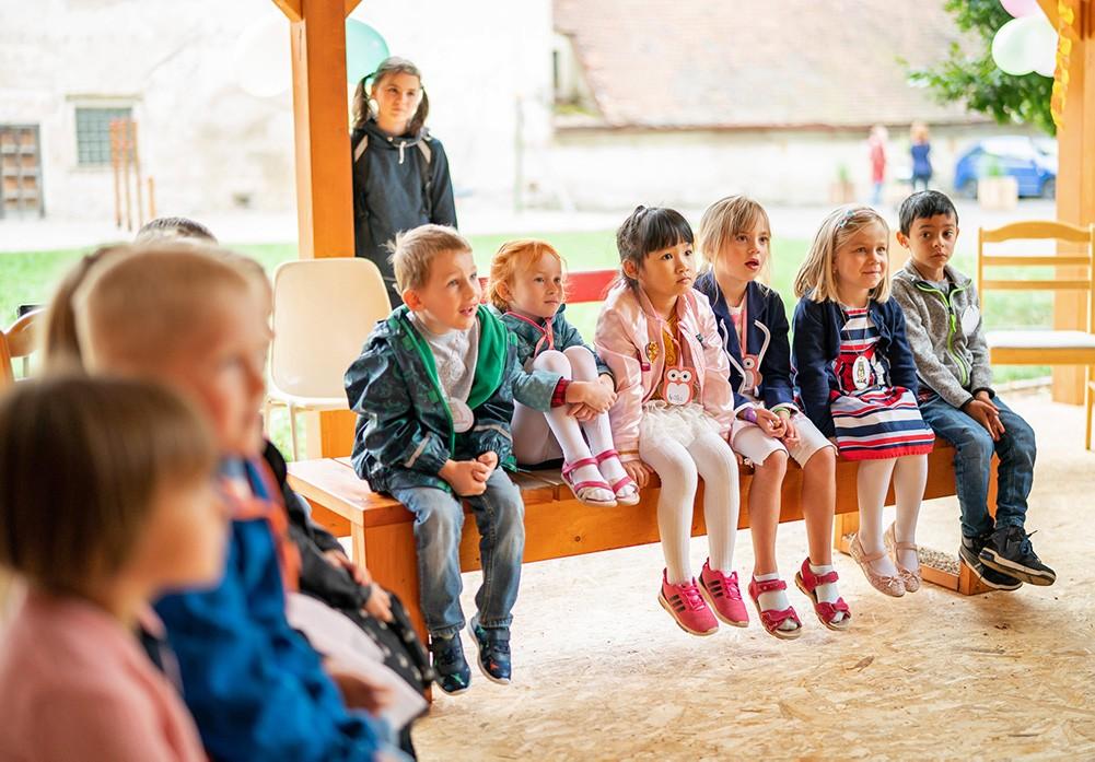 děti při výuce